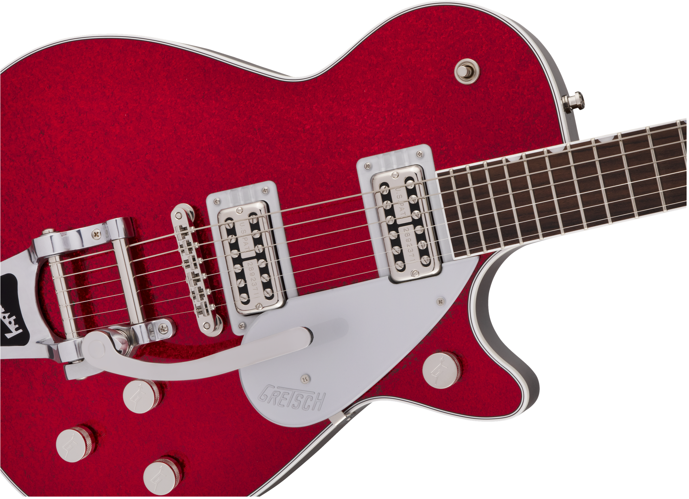 Gretsch G6129T Players Edition Jet™ FT with Bigsby®, Rosewood Fingerboard, Red Sparkle
