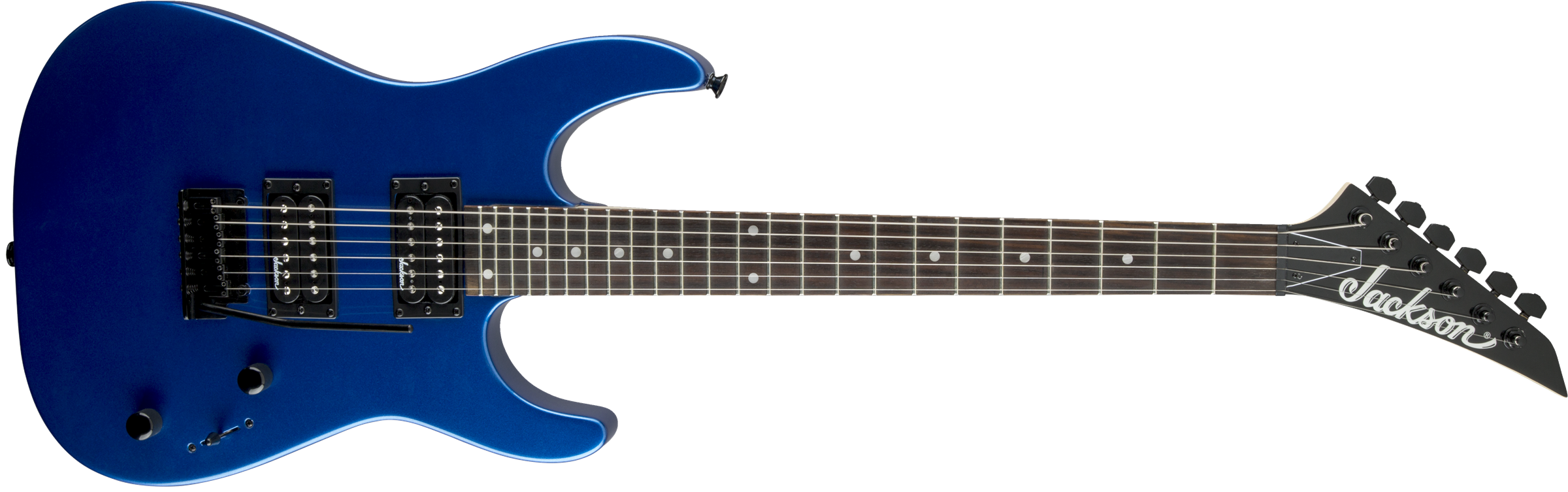 Jackson JS Series Dinky™ JS12, Amaranth Fingerboard, Metallic Blue