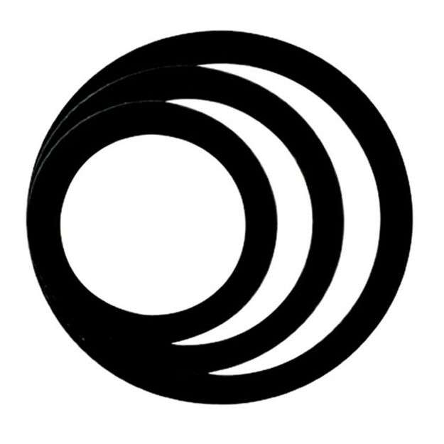 "Remo DynamO Pack, Black, 5"", 7"", 9"" (1 Ea)"