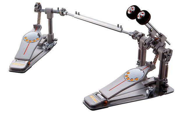 Pearl P-3002C Eliminator Demon Chain Bass Drum Double Pedal w/Case