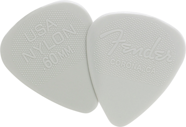 Fender® Nylon Picks - 12 Pack