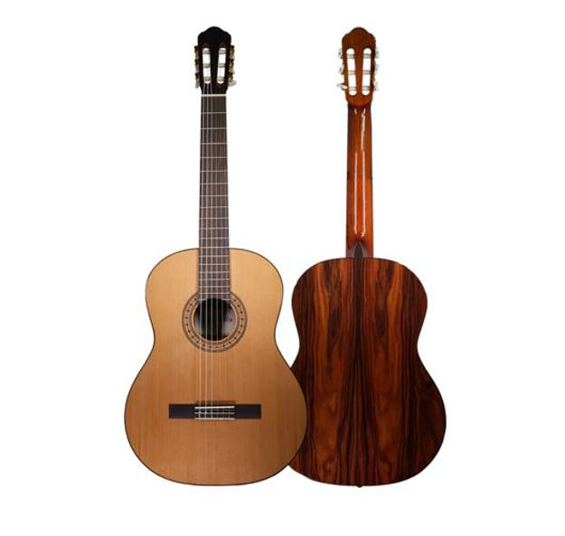 Maravilla Gitar - M30 - Top: Solid Cedar, B & S: Pau Ferro, Gloss-Finish, incl. Gigbag with Fishman Presys and Cutaway