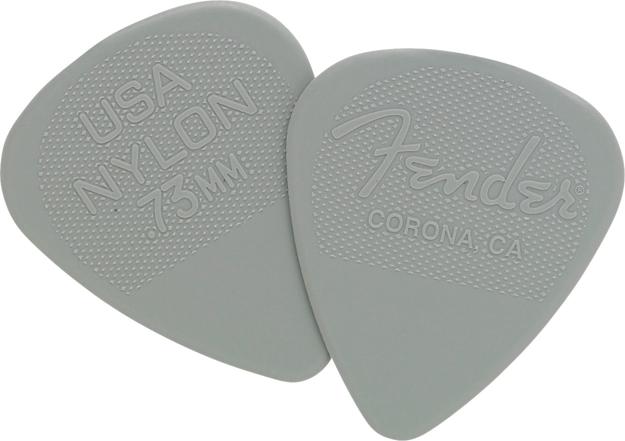 Fender® Nylon Picks - 12 Pack