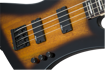 Jackson JS Series Kelly™ Bird Bass IV JS2, Amaranth Fingerboard, Tobacco Burst