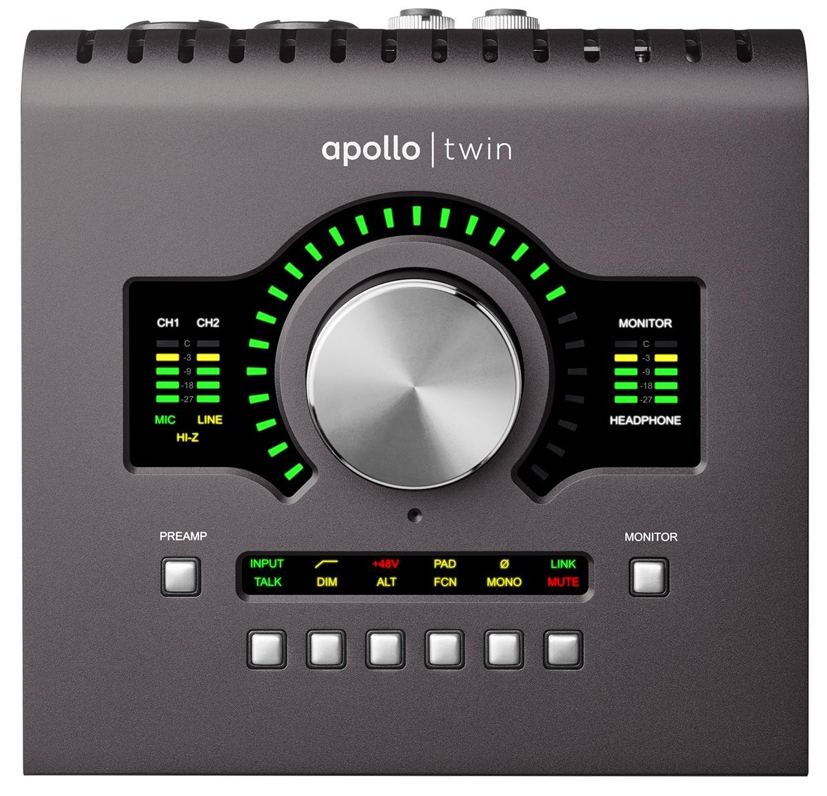 Universal Audio Apollo TWIN mk2 DUO TB2 x2 DSP, Heritage Ed.