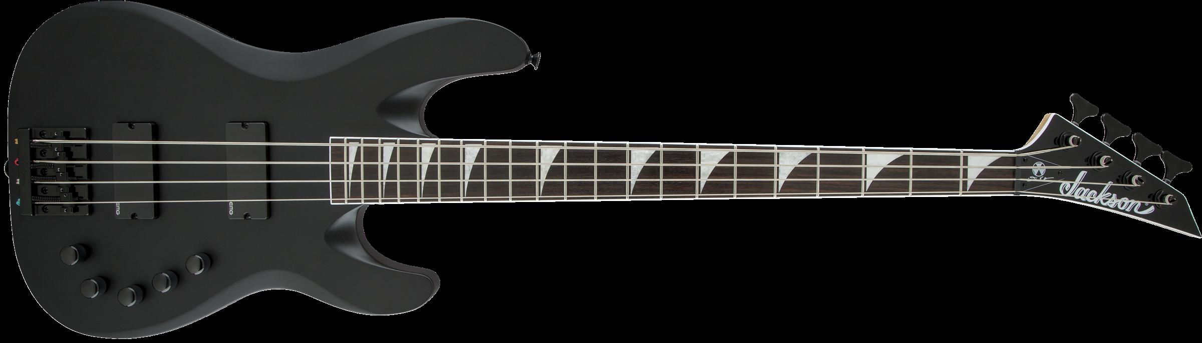 Jackson X Series Signature David Ellefson Concert™ Bass CBX IV, Laurel Fingerboard, Satin Black