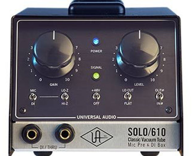 Universal Audio Solo/610 Classic Tube Single Channel Mic Pre
