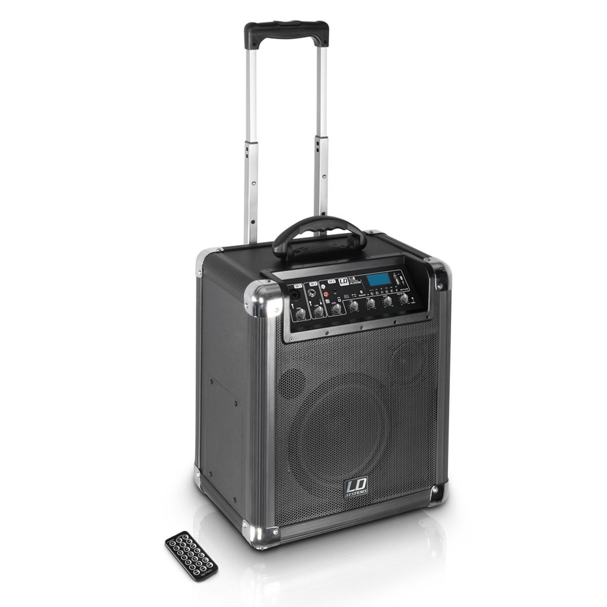 RYDDESALG | LD Systems Roadjack 8 - Battery Powered Bluetooth Loudspeaker with Mixer | pris pr stk
