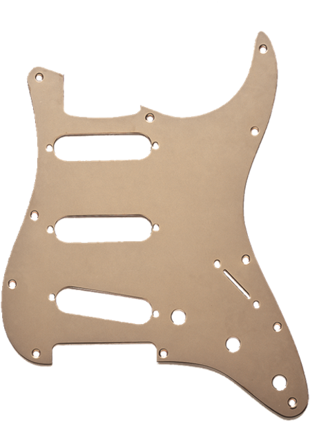 Fender 11-Hole Modern 1-Ply Anodized Stratocaster® S/S/S Pickguard