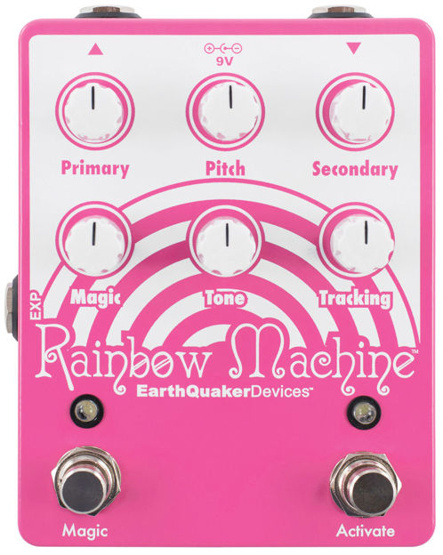 RYDDESALG | EarthQuaker Devices - Rainbow Machine V2 - Polyphonic Pitch Mesmerizer