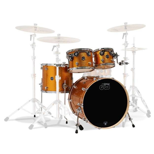 Drum Workshop Shell set Performance - Gold Sparkle
