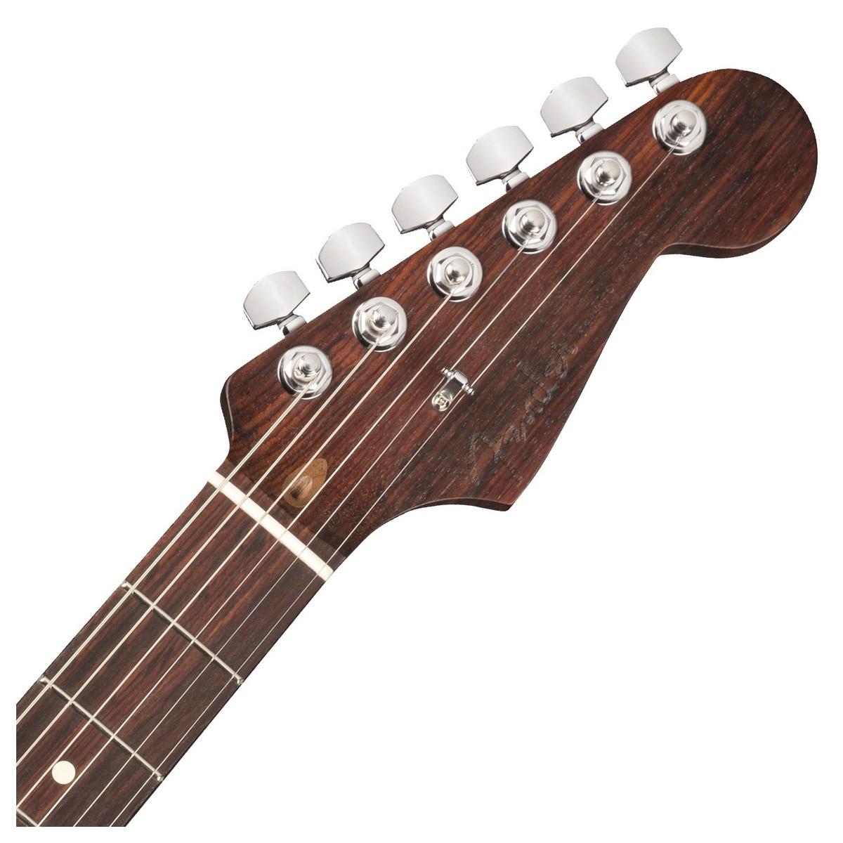RYDDESALG | Fender LTD ED AM PRO STRAT ROSE FRD