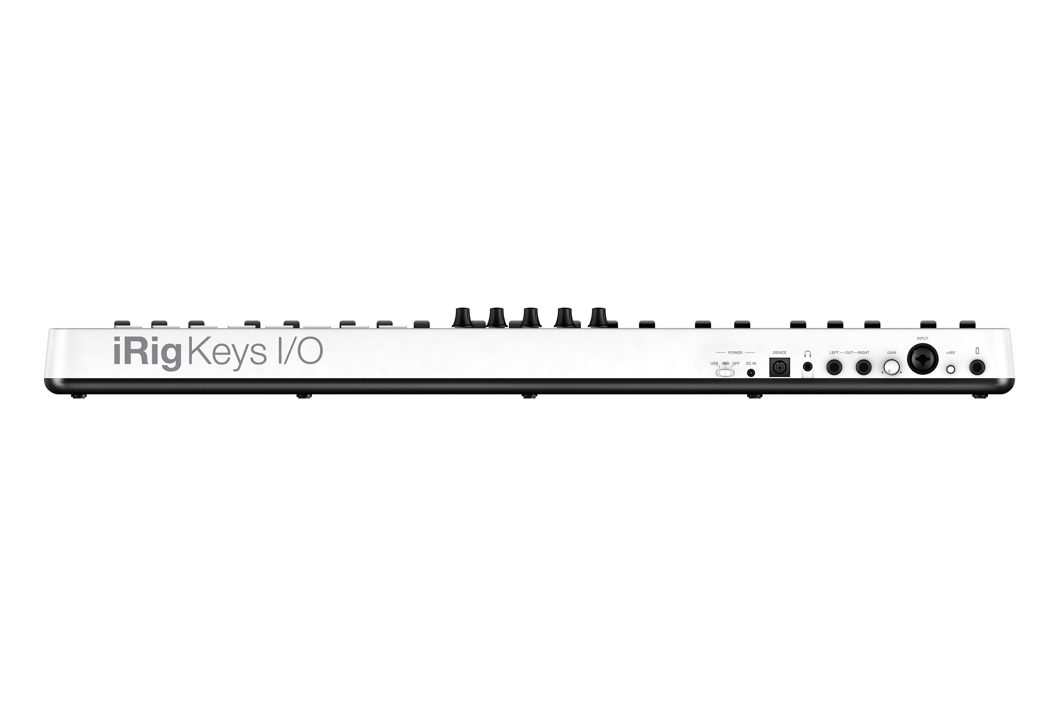 RYDDESALG | IK Multimedia iRig Keys I/O 49