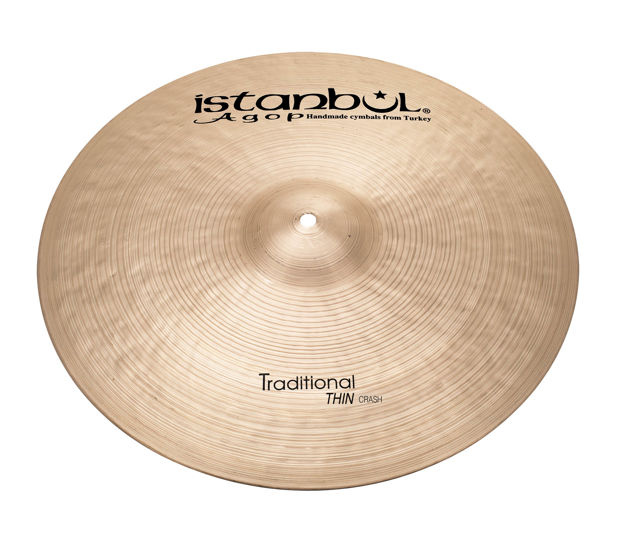 "Istanbul Agop THC19 19"" Traditional Thin Crash"