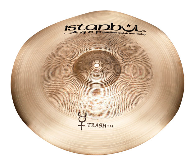 """Istanbul Agop THIT22 22"""" Traditional Trash Hit"""