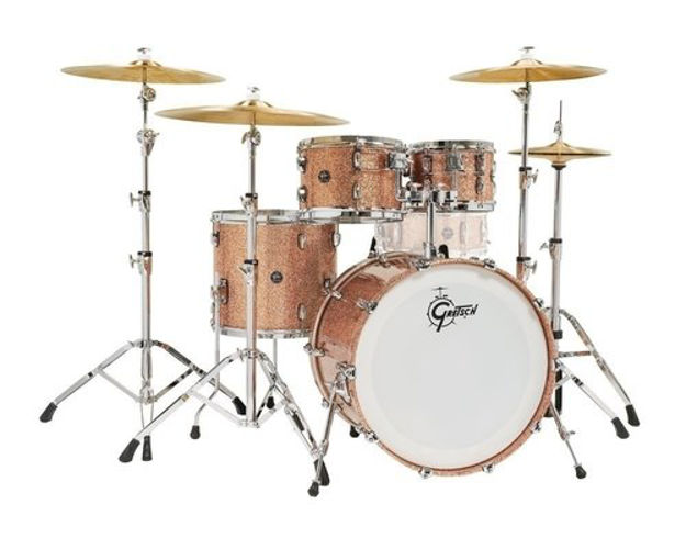 Gretsch shell set Renown Maple - Copper Premium Sparkle RN2-E8246