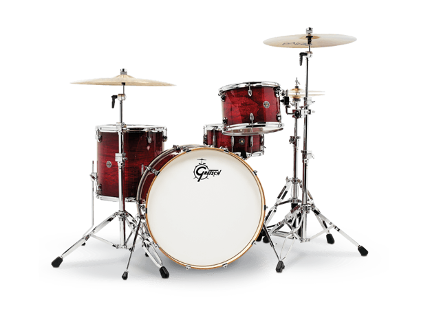Gretsch shell set Catalina Club - Gloss Crimson Burst CT1-R444C