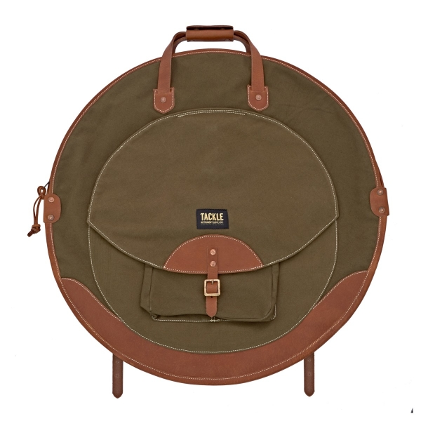"""Tackle Backpack Cymbal Case - Forest Green 22"""""""