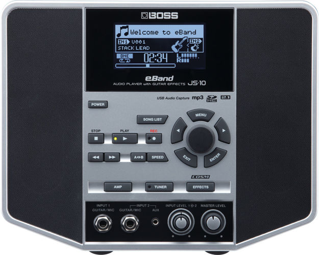 Boss JS-10 AUDIO PLAYER W/GUITAR EFFECTS