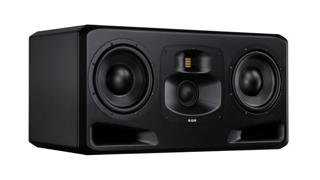 "ADAM S5H -  Midfield / Main monitor, 3-way system, 2x10,5"" woofer"