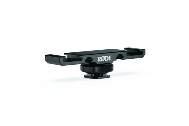 RODE DCS-1 Dobbel Cold Shoe til Wireless GO