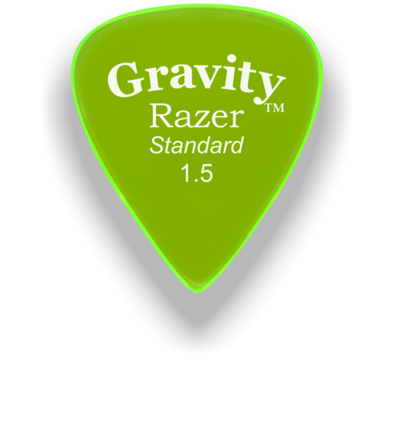 Gravity Picks Razer Standard 1.5 mm Master Finish