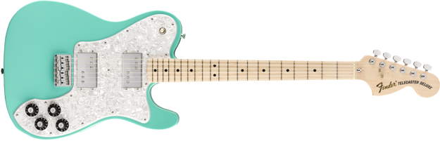 Fender 2020 Limited Edition Traditional 70s Tele® Deluxe, Maple Fingerboard, Seafoam Green