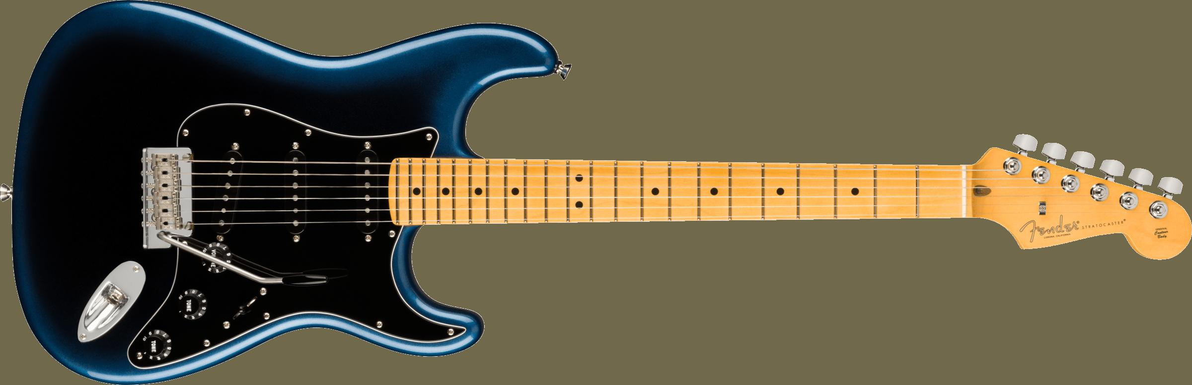 Fender American Professional II Stratocaster®, Maple Fingerboard, Dark Night