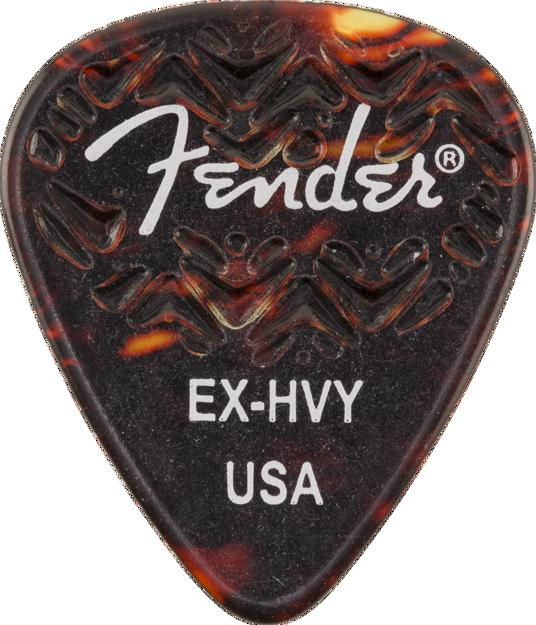 Fender 351 Shape Wavelength™ Celluloid Picks — 6-Pack