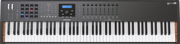 ARTURIA Keylab-MkII-88 Black limited Edition Controller