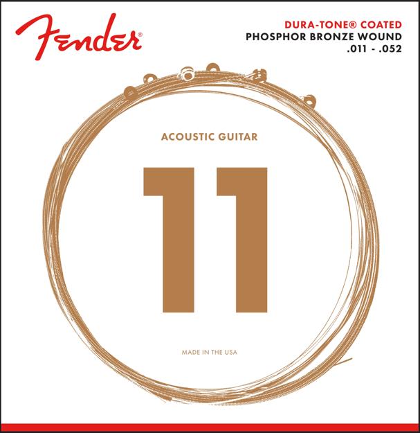 Fender Dura-Tone® Coated Phosphor Bronze Strings