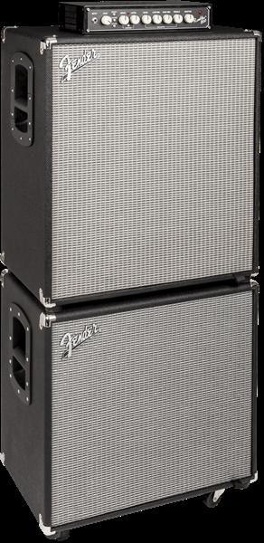Fender Rumble™ 115 Cabinet (V3), Black/Silver
