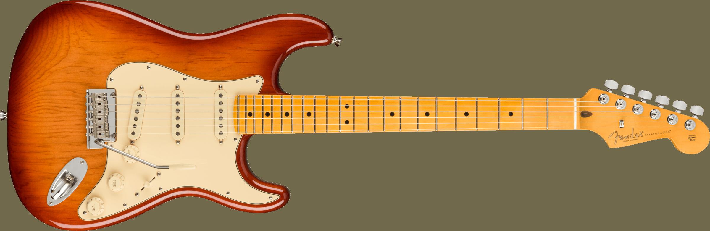 Fender American Professional II Stratocaster®, Maple Fingerboard, Sienna Sunburst