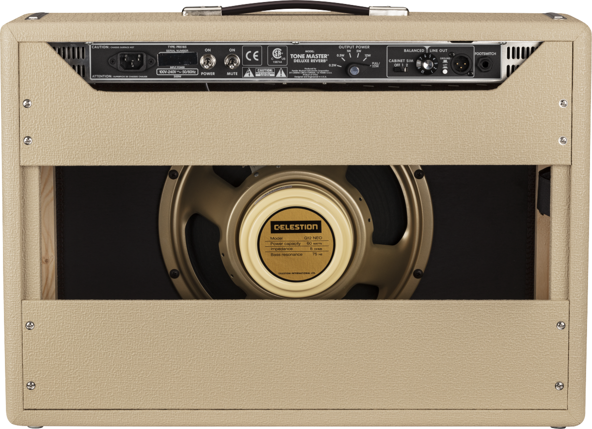 Fender Tone Master® Deluxe Reverb® Blonde, 230V EUR