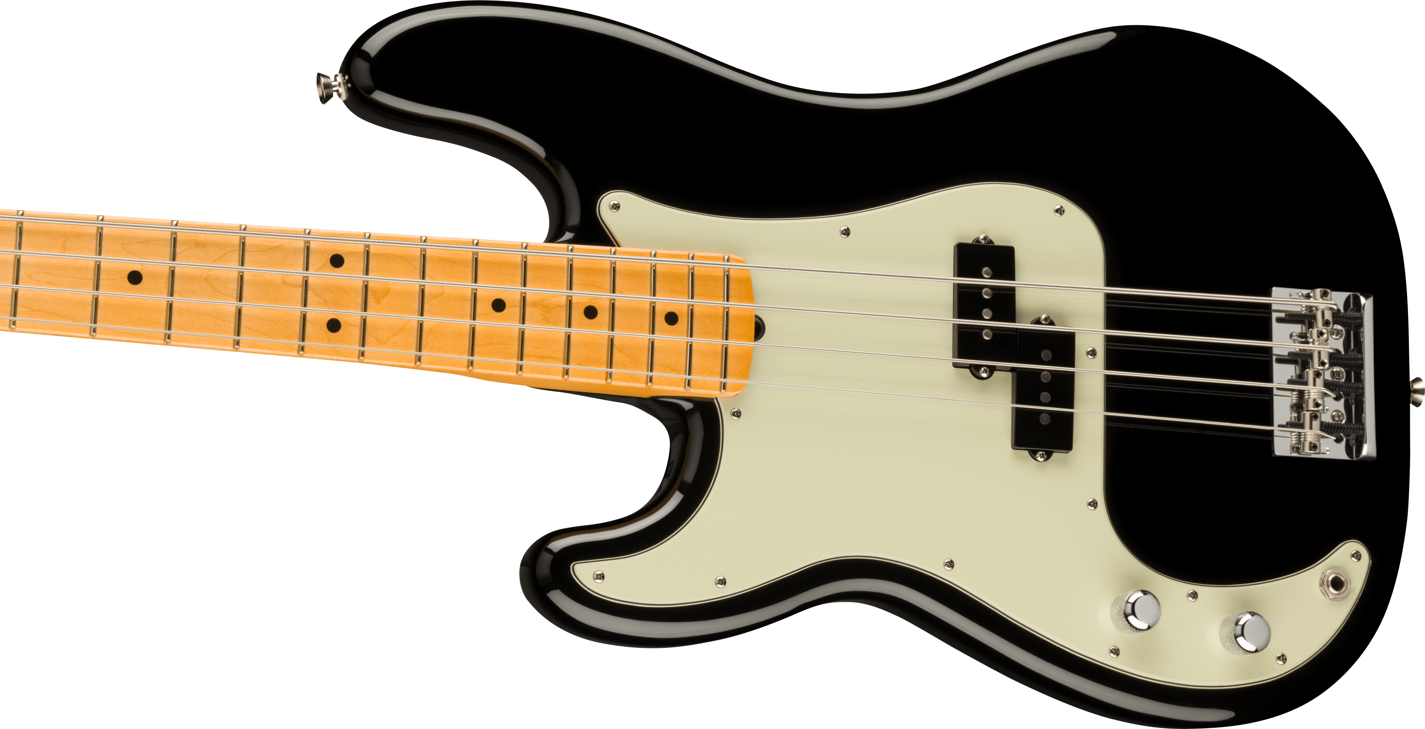 Fender American Professional II Precision Bass® Left-Hand, Maple Fingerboard, Black