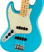 Fender American Professional II Jazz Bass® Left-Hand, Maple Fingerboard, Miami Blue