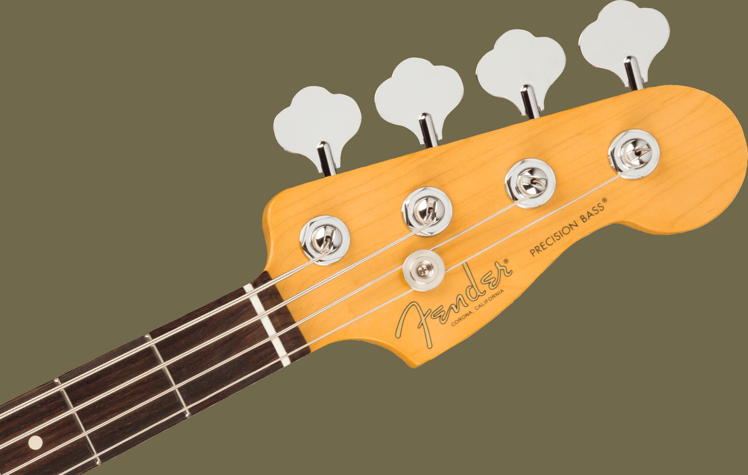 Fender American Professional II Precision Bass®, Rosewood Fingerboard, Mystic Surf Green