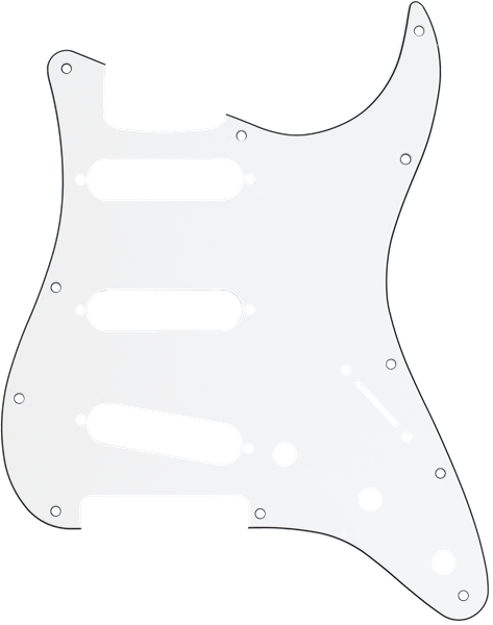 Fender 11-Hole Modern-Style Stratocaster® S/S/S Pickguards