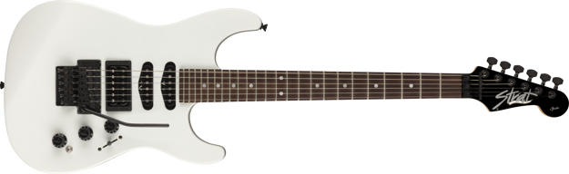 Fender Limited Edition HM Strat®, Rosewood Fingerboard, Bright White