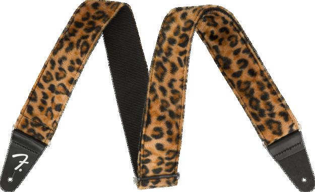 """Fender Wild Leopard Print Strap, 2"""""""