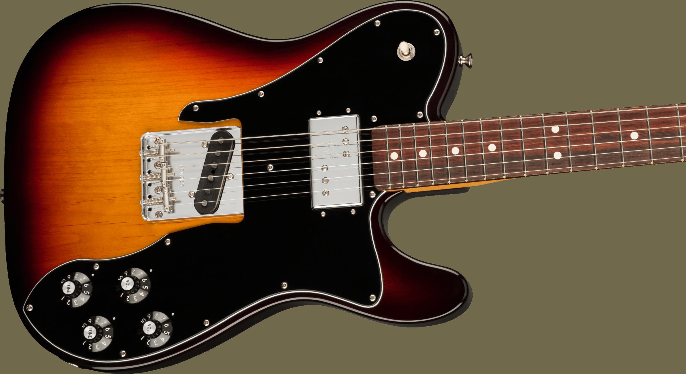 Fender American Original 70s Telecaster® Custom, Rosewood Fingerboard, 3-Color Sunburst