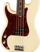 Fender American Professional II Precision Bass® Left-Hand, Rosewood Fingerboard, Olympic White
