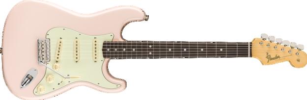 Fender American Original '60s Stratocaster®, Rosewood Fingerboard, Shell Pink
