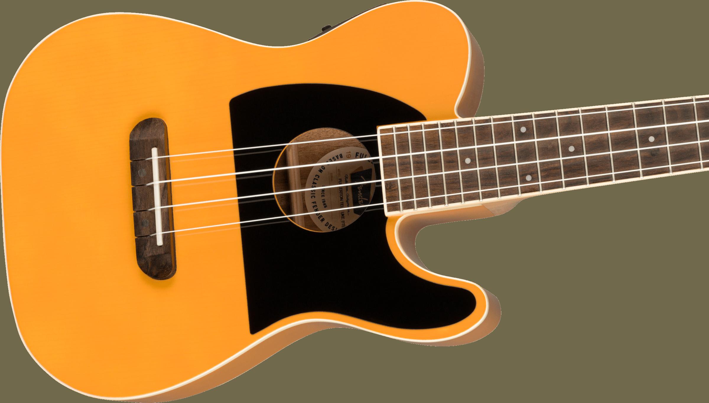 Fender Fullerton Tele® Uke, Butterscotch Blonde