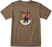 Fender Sunset Spirit T-Shirt, Olive, S