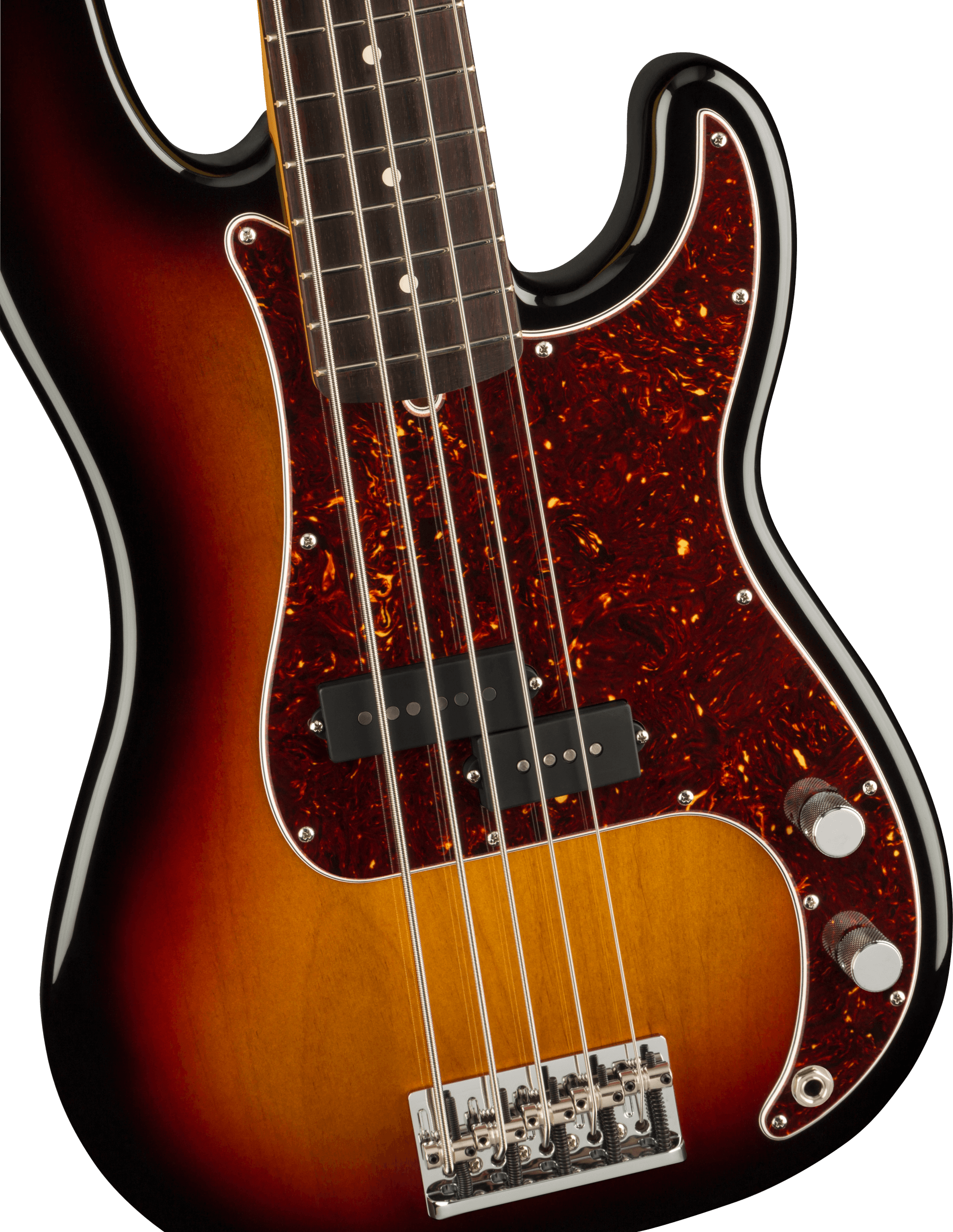 Fender American Professional II Precision Bass® V, Rosewood Fingerboard, 3-Color Sunburst