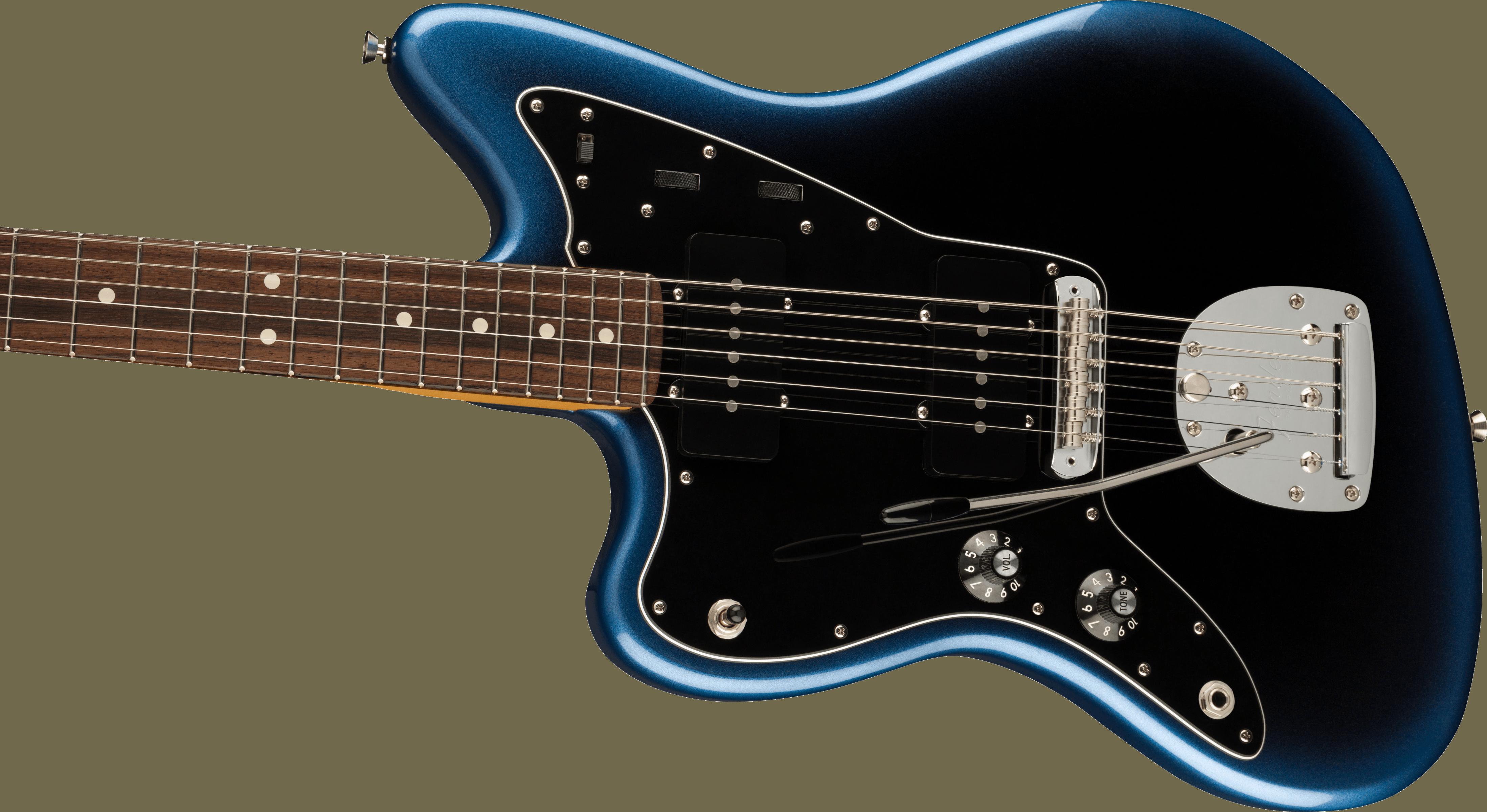 Fender American Professional II Jazzmaster® Left-Hand, Rosewood Fingerboard, Dark Night