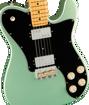 Fender American Professional II Telecaster® Deluxe, Maple Fingerboard, Mystic Surf Green