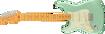 Fender American Professional II Stratocaster® Left-Hand, Maple Fingerboard, Mystic Surf Green