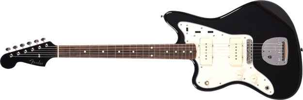 Fender 2019 Limited Edition MIJ Traditional '60s Jazzmaster® Left-Handed, Rosewood Fingerboard, Black